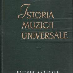 ISTORIA MUZICII UNIVERSALE de R.I.GRUBER