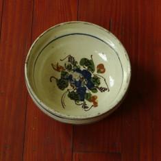Arta populara romaneasca - Farfurie / Strachina realizata manual din lut !!! - Arta Ceramica