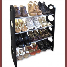 Etajera Suport Pentru 12 Perechi De Incaltaminte Stackable Shoe Rack - Pantofar hol