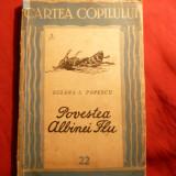 Suzana E.Popescu - Povestea Albinei Flu - Prima Ed. 1943 - Carte educativa