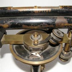 NIVELA OPTICA STARKE&KAMMERER, WIEN, VECHE - Microscop