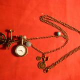 Medalion cu ceas si Biciclete