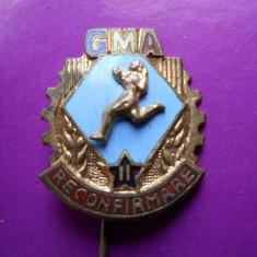 ROMANIA INSIGNA PIONIER GATA MEREU ACTIV II RECONFIRMARE GMA - HOPCT