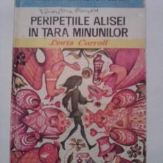 Peripetiile Alisei in Tara Minunilor - Lewis Carroll (ilustratii de Angi Petrescu Tiparescu) / C1P - Carte de povesti