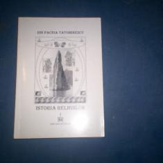 ISTORIA RELIGIILOR ION PACHIA TATOMIRESCU VOLI
