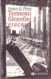 Francis E.Peters-Termenii filozofiei grecesti, Alta editura