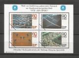 """GERMANIA Gan 1981 Proiect neaprobat de timbre """"pentru Sport""""-an 1981-tipar oficial al postei germane"""