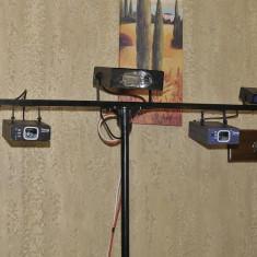 Vand stativ cu lasere si Stroboscoape - Laser lumini club