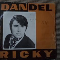 Ricky Dandel disc single vinyl muzica pop usoara slagare romaneasca electrecord, VINIL