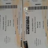 Bilete Scorpions GOLD CIRCLE - Bilet concert, Romexpo