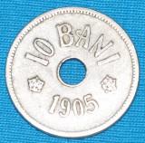 2265 ROMANIA 10 BANI 1905
