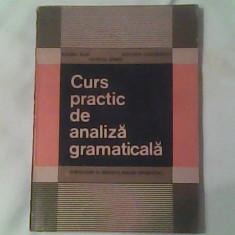 Curs practic de analiza gramaticala-Introducere in metodica analizei gramaticale