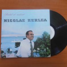 NICOLAE HERLEA - RECITAL DE CANTONETE disc LP vinil vinyl pickup pick-up, electrecord