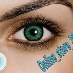 Lentile de contact verzi 2V. Aspect natural pentru un iris deschis. Pentru 1 AN. - Lentile de contact colorate