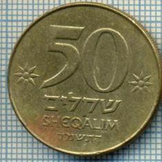 4041 MONEDA - ISRAEL - 50 SHEQALIM - anul 1984 ? -starea care se vede