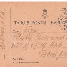 CPI (B3600) CARTE POSTALA. TABORI POSTAL LEVELEZOLAP, CIRCULATA, 1929, STAMPILA KOLOZSVAR