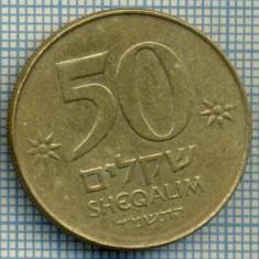 4046 MONEDA - ISRAEL - 50 SHEQALIM - anul 1984 ? -starea care se vede