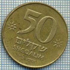 4039 MONEDA - ISRAEL - 50 SHEQALIM - anul 1984 ? -starea care se vede