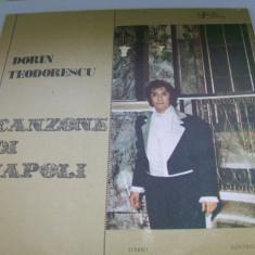 DORIN TEODORESCU CANZONE DI NAPOLI   DISC VINIL