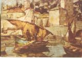 CPI (B3542) NICU ENEA - CORABIE SI BARCI IN PORTUL DUBROVNIC, CASA MUZEU NICU ENEA - BACAU, NECIRCULATA, Fotografie