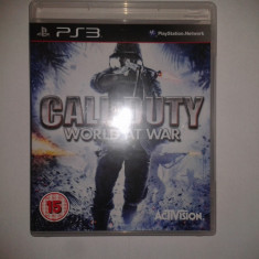 Call Of Duty: World At War - Jocuri PS3 Ea Sports, Shooting, 18+, Multiplayer