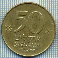 4038 MONEDA - ISRAEL - 50 SHEQALIM - anul 1984 ? -starea care se vede