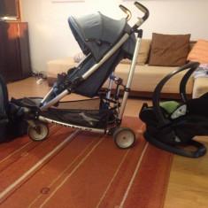 Carucior sport copii + landou + scaun masina marca BeSafe - Carucior copii Landou TFK, Gri