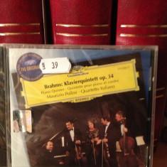 BRAHMS - KLAVIERQUINTETT OP. 34 (M. POLLINI) (1980/UNIVERSAL/UK ) cd nou/sigilat - Muzica Clasica universal records