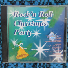 ROCK'N ROLL CHRISTMAS PARTY - 1 CD cu 15 melodii clasice de CRACIUN, in limba engleza (JINGLE BELLS, LET IT SNOW, SILENT NIGHT etc!!!!)