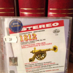 TCHAIKOVSKY / BEETHOVEN -1812 OVERTURE/CAPRICCIO..(2007/DECCA/UK) cd nou/sigilat - Muzica Clasica decca classics