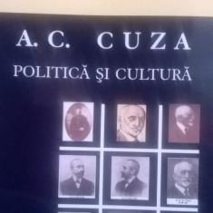 A C CUZA POLITICA SI CULTURA G ASANDULUI 2007 348PAG MISCAREA LEGIONARA LEGIONAR - Carte Istorie