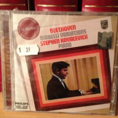 BEETHOVEN - DIABELLI VARIATIONS with S. KOVACEVICH (2006/DECCA)- cd nou/sigilat - Muzica Clasica universal records