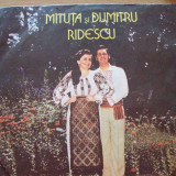Miuta si Dumitru Ridescu,disc vinil