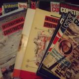 REVISTA INTERNATIONAL CONSTRUCTION - 32 DE NUMERE - 1981-1986 - Carti Constructii