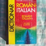 Dictionar roman-italian George Lazarescu
