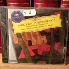 PROKOFIEV - SYM. 5 with HERBERT VON KARAJAN(2007/decca/GERMANY) cd nou/sigilat - Muzica Clasica universal records