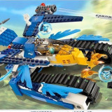 Masina de lupta EQUILA, EGLOR, WILHURT tip lego chima, 344 piese, jucarie constructiva, BELA 10055 - Set de constructie