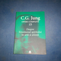 OPERE COMPELTE 15 C G JUNG - Carte Psihologie, Trei