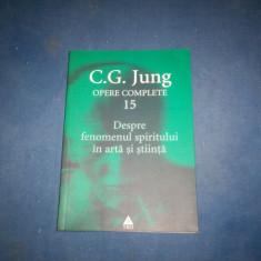 OPERE COMPELTE 15 C G JUNG - Carte Psihologie, Trei
