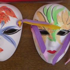 Masca vieneza /pereche- portelan- dimensiune redusa - Masca carnaval