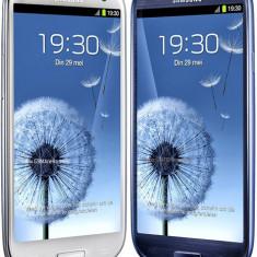 Samsung Galaxy s3 - Telefon mobil Samsung Galaxy S3, Albastru, 16GB, Neblocat, Dual core, 1 GB