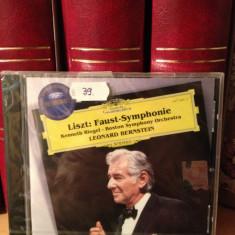 LISZT - FAUST SYMPHONIE & LEONARD BERNSTEIN (2006/POLYDOR REC) - cd nou/sigilat - Muzica Clasica universal records