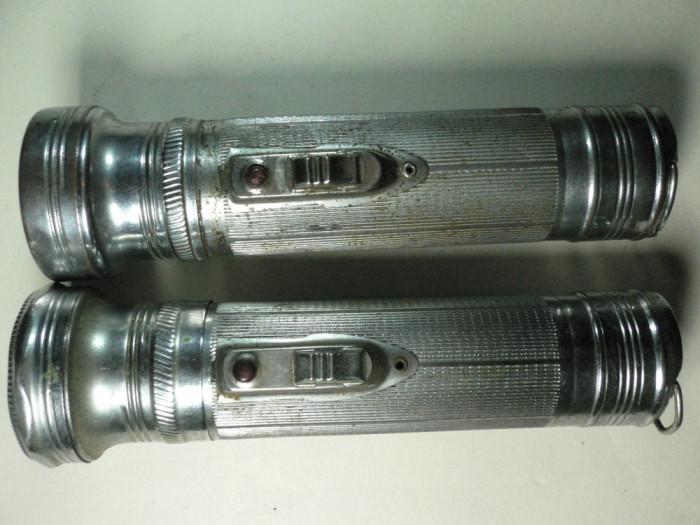 2 - LANTERNE VECHI METALICE CHINA - MODEL 333 SI 555 - DIMENSIUNI 4 X 17 CM