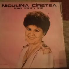 Niculina Carstea Cirstea FAMOUS OPERETTA DUETS MUZICA OPERA DISC VINYL lp - Muzica Clasica electrecord, VINIL