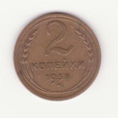 (M40) - MONEDA RUSIA - 2 KOP 1938, Europa