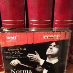 BELLINI - NORMA 3CD BOXSET with RICCARDO MUTI & ..1999/EMI /UK -  cd nou/sigilat