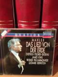 MAHLER - DAS LIED VON.. with LEONARD BERNSTEIN(1989/DECCA REC/UK) cd nou/sigilat, decca classics