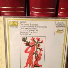 ORFF - CARMINA BURANA with ORCH. OPER BERLIN (1999/POLYDOR/UK)- cd nou/sigilat - Muzica Clasica universal records
