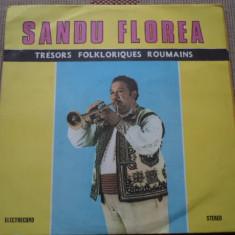 Sandu florea trompeta Tresors folkloriques Roumains Muzica Populara electrecord disc vinyl, VINIL