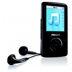Philips go gear 2 gb - Mp4 playere Philips, Negru